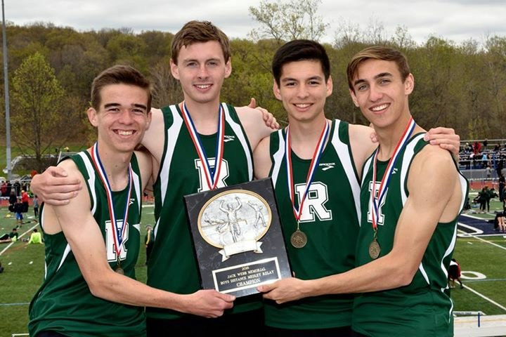Boys Win DMR at Randolph Relays, set school and meet record 10:28.38