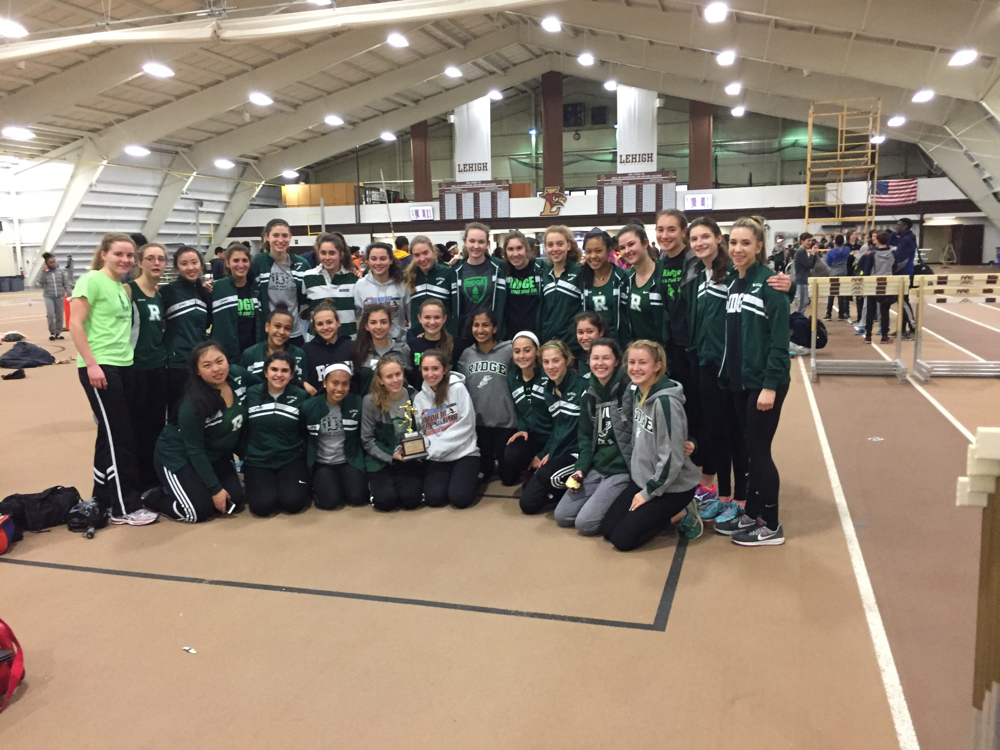 Ridge Girls Win Somerset County Championships!